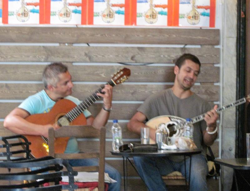 Rebétiko musicians