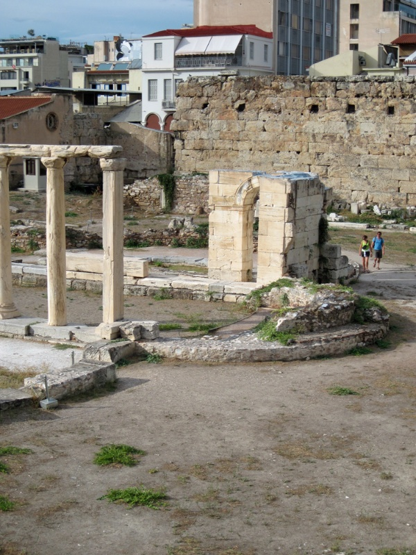 Ruins of Hadrian's Library