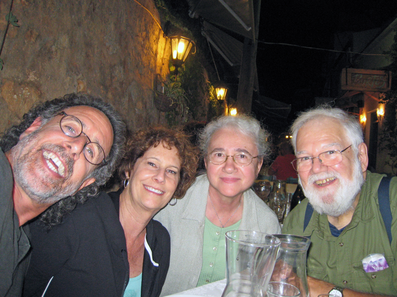 David, Carol, and ourselves