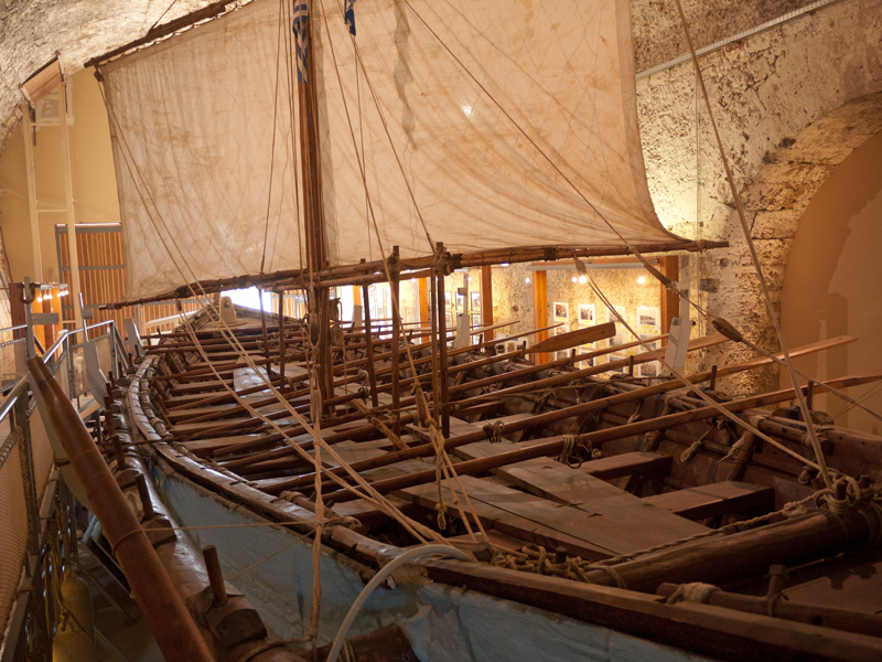 Reconstructed Minoan ship