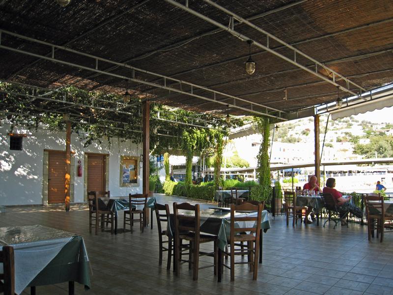 The Xenía's terrace