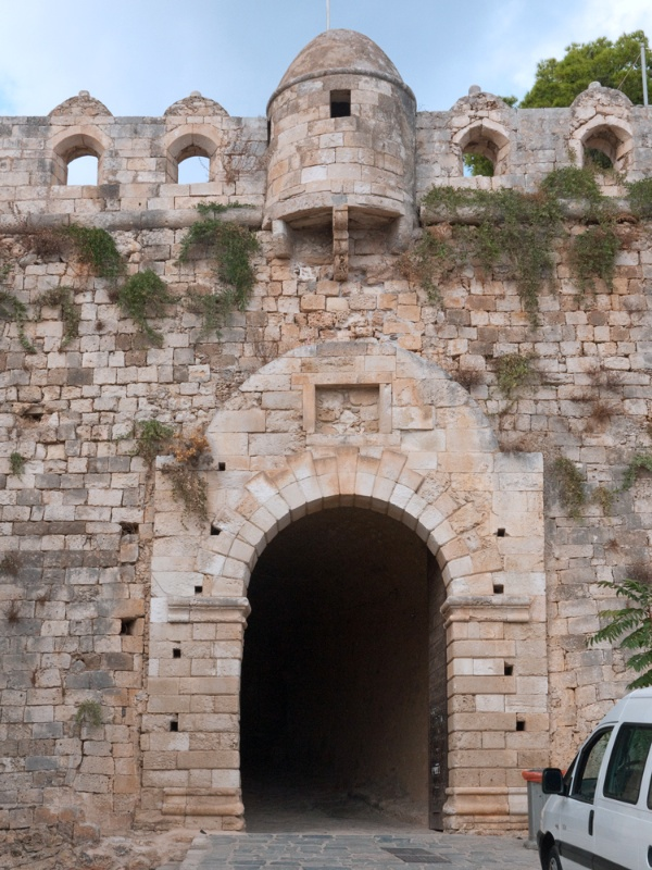 The eastern gate