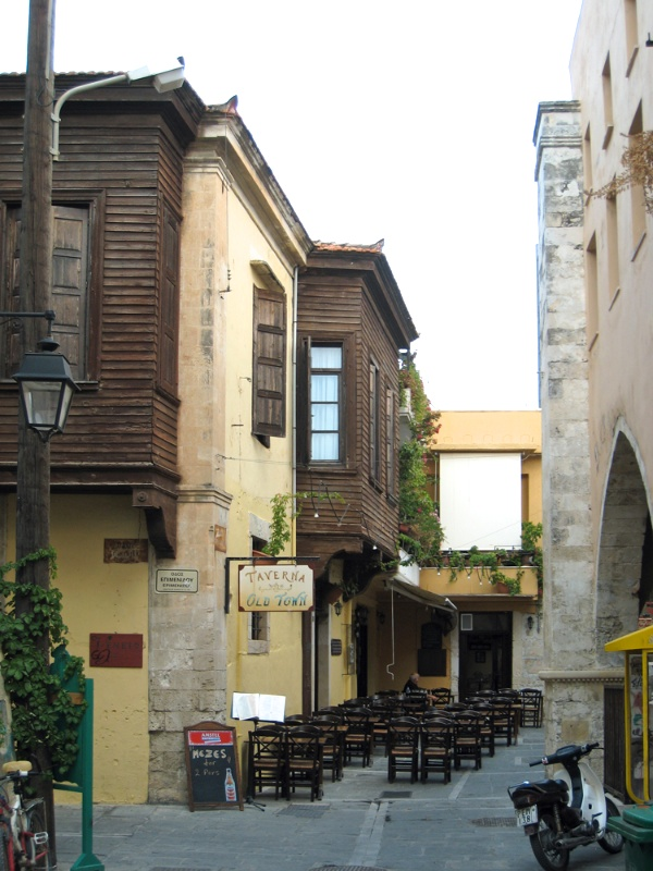 "Houses with Turkish-style ""balconies"""