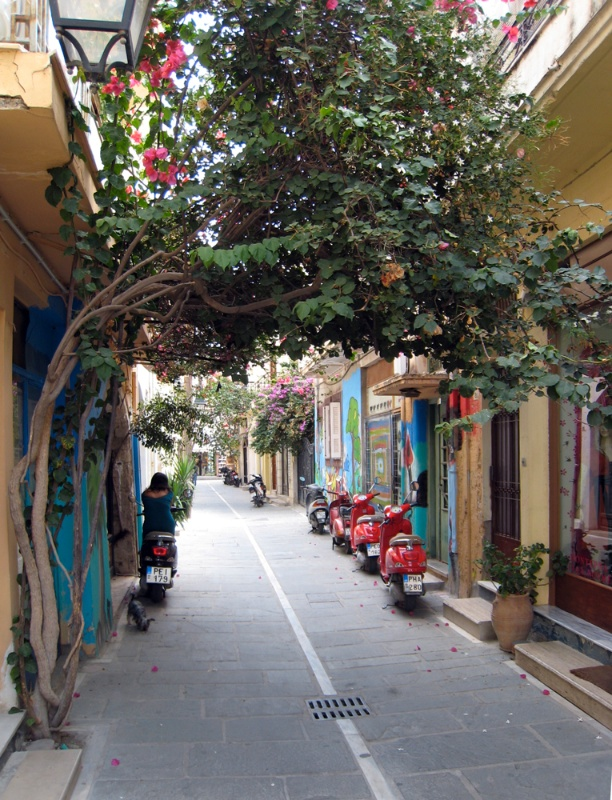 Street in Rethymno's Old Town