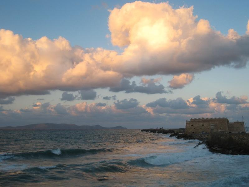 Sky and sea show