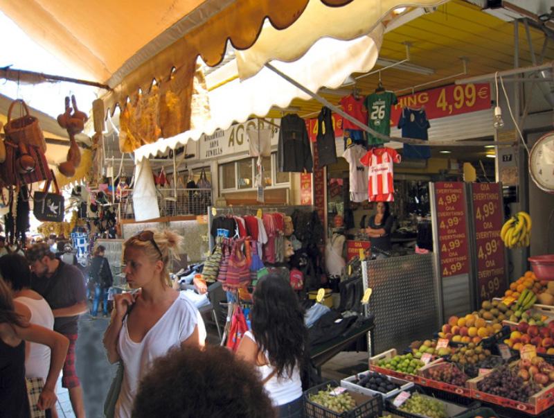 1866 Square: Iráklio's market