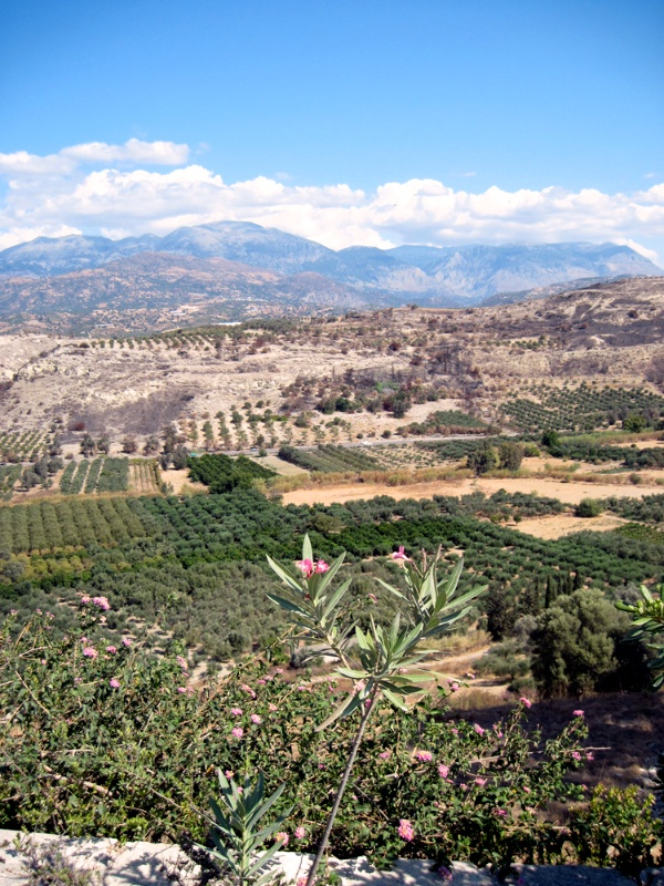 The Messara Plain from Phaistós #2