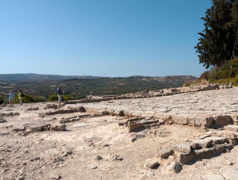 Phaistos Palace: West Court