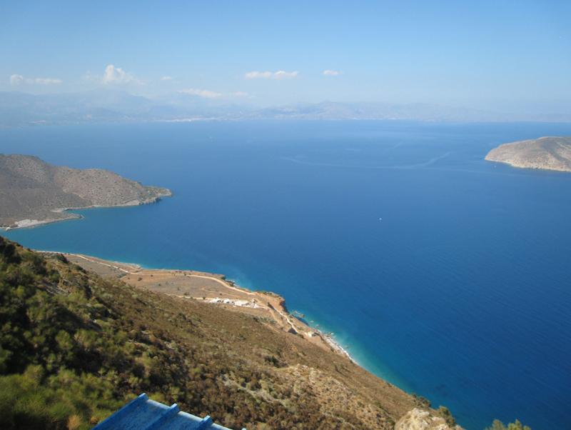 The 'wondrously beautiful bay' of Mirabello