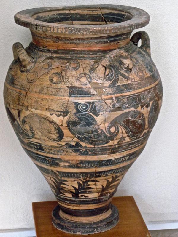 Minoan pottery #2