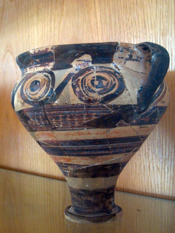 Minoan pottery #7