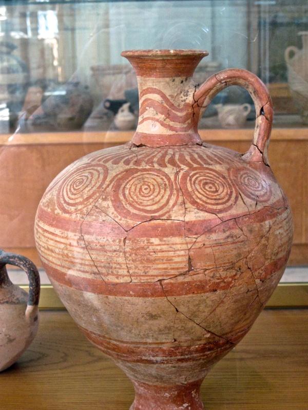 Minoan pottery #10