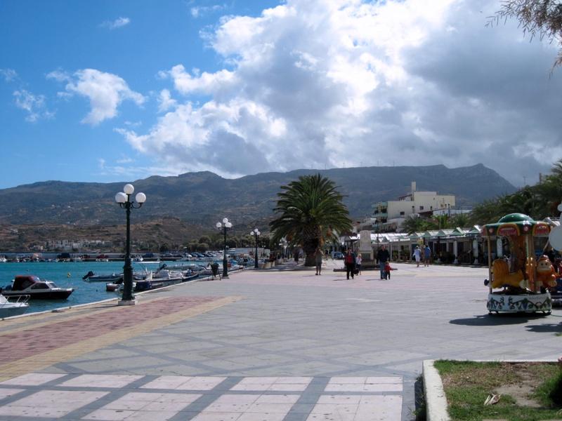 Marina promenade