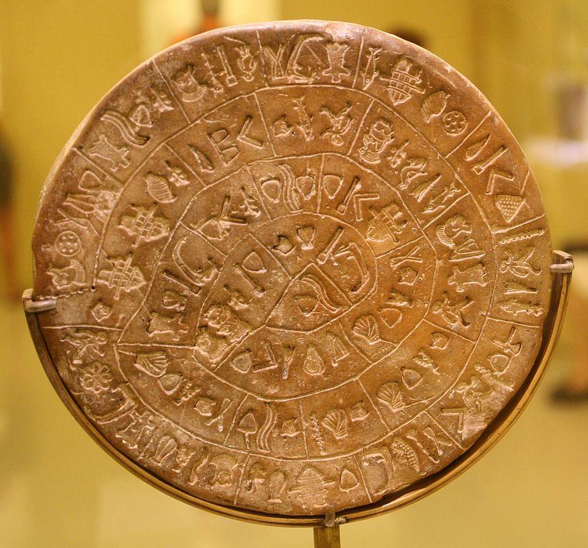 Linear A on the Phaistos Disk