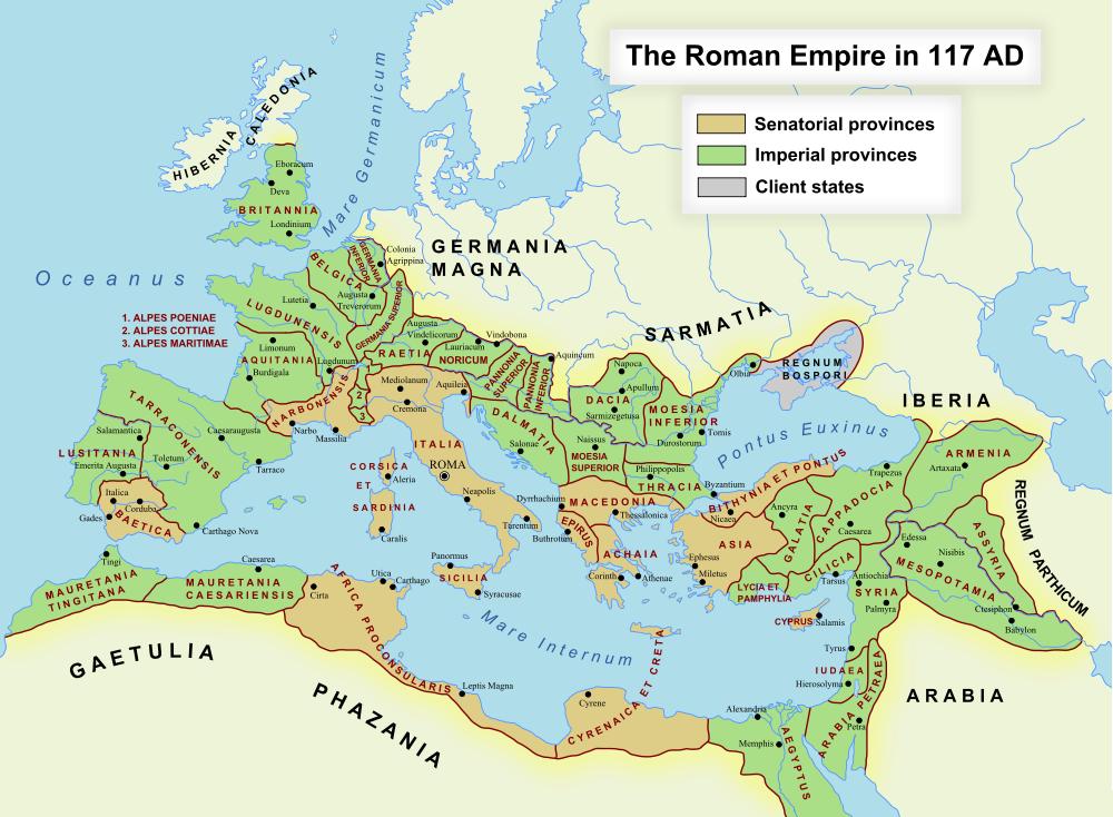 Provinces of the Roman Empire