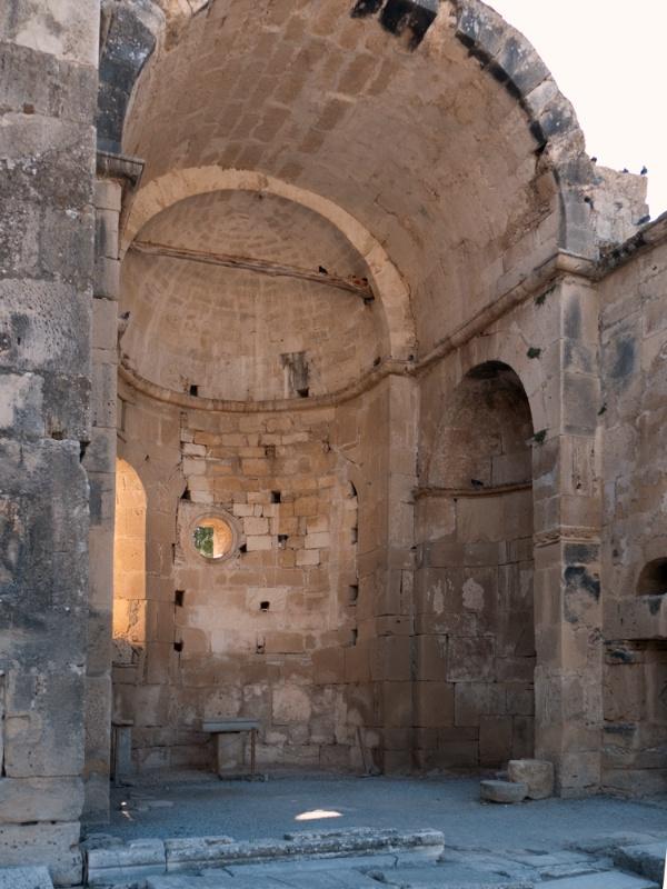 Ruined cathedral of St. Títos at Gortina