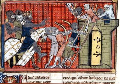 Crusaders at work