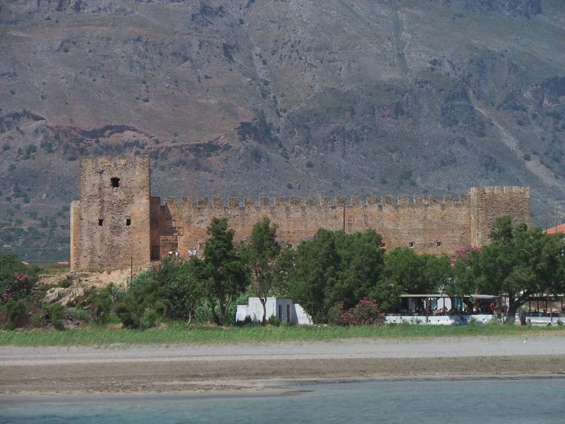 Frangokástello, the 'Frankish fortress'