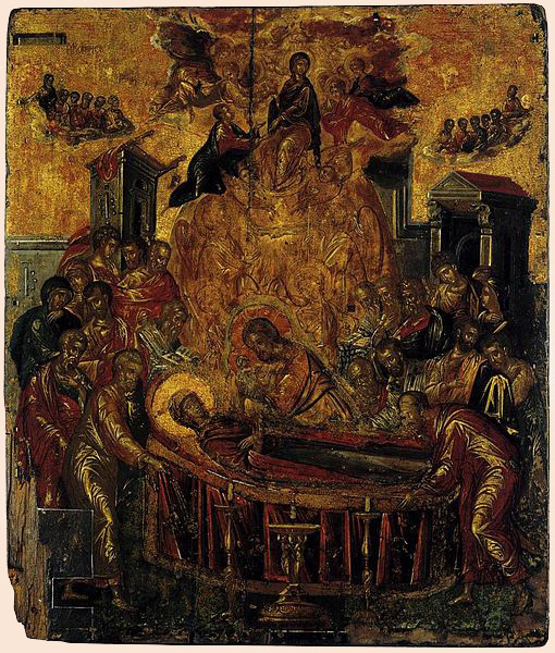 Icon painted by Doménikos Theotokópoulos before he left Crete
