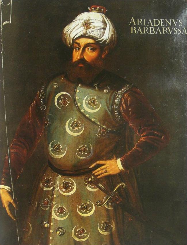 Hayreddin Pasha ('Barbarossa')