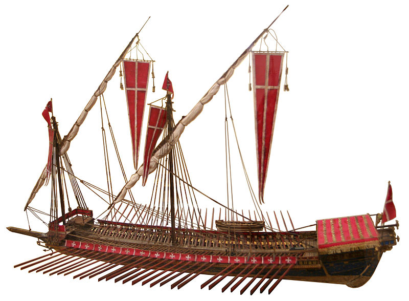 16th-century Maltese galley