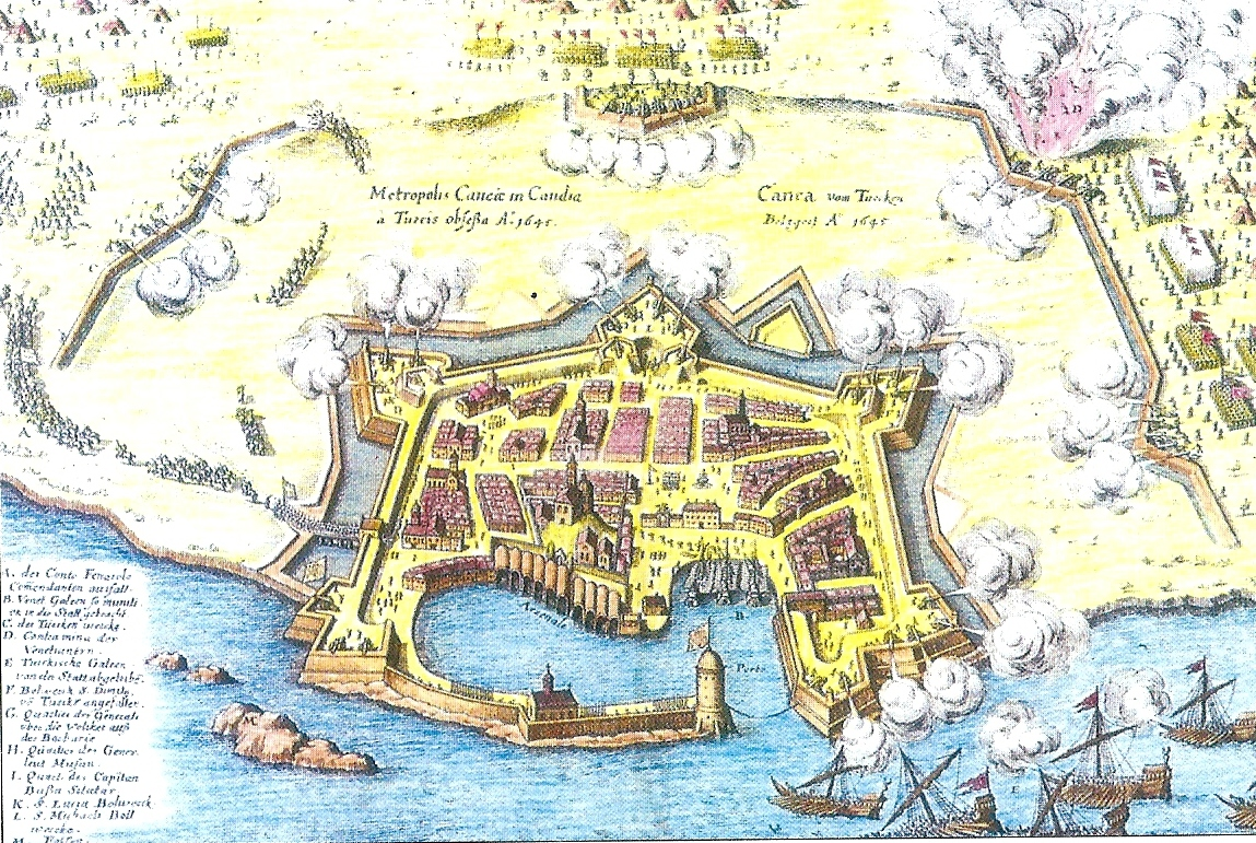 Siege of Canea, 1645