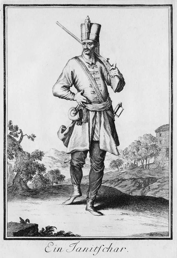 Janissary musketeer, late 17th or early 18th century