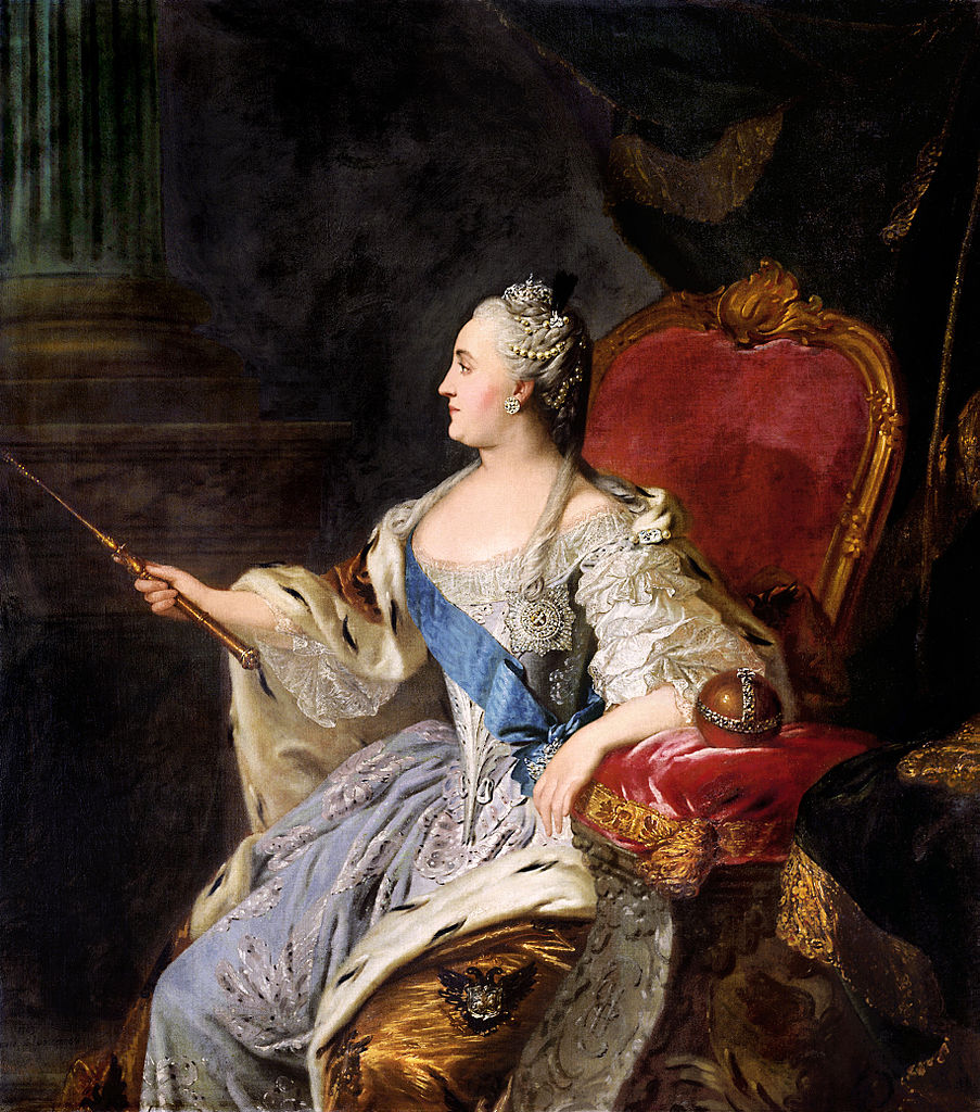 Catherine the Great, Empress of All the Russias, reigned 1762–1796