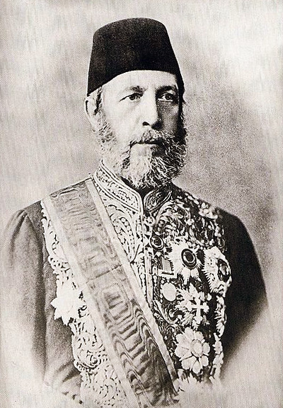Alexander Karatheodori Pasha, Turkish official, 1838–1906