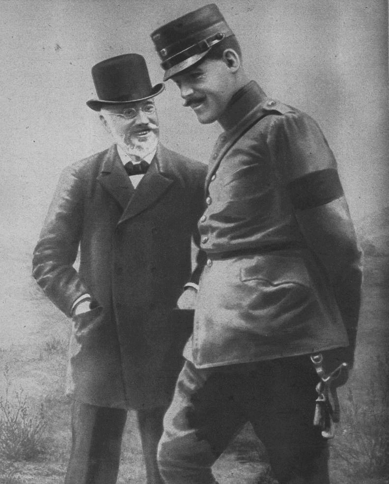 Prime Minister Venizélos and King Constantine, 1913