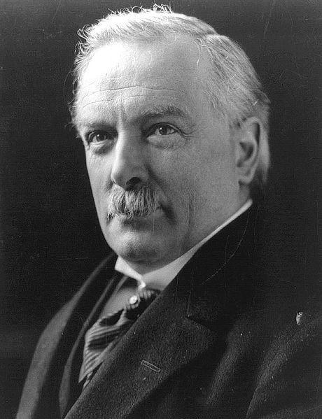 David Lloyd George in 1919