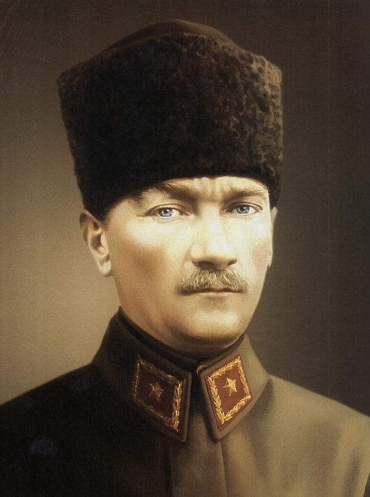 Mustafa Kemal (later Kemal Atatürk)