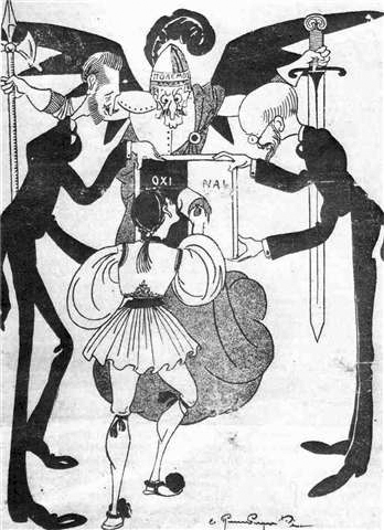 1920 election cartoon