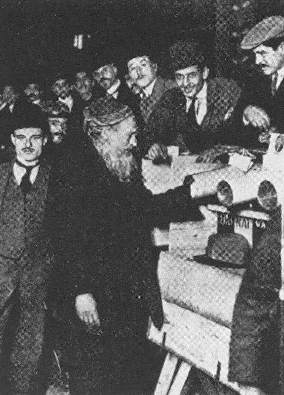 Greek election in Salonika, 1915