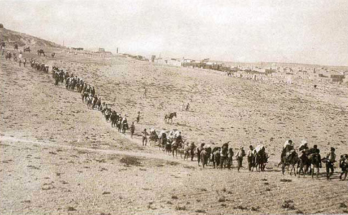 Greek refugees leaving Turkey, 1923