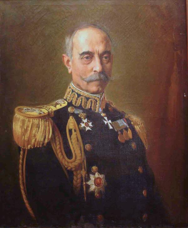 Pávlos Koundouriótis, admiral, regent, and president