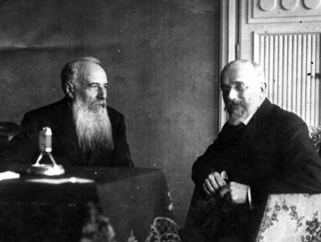 Venizélos with Nikola Pašić, prime minister of Serbia