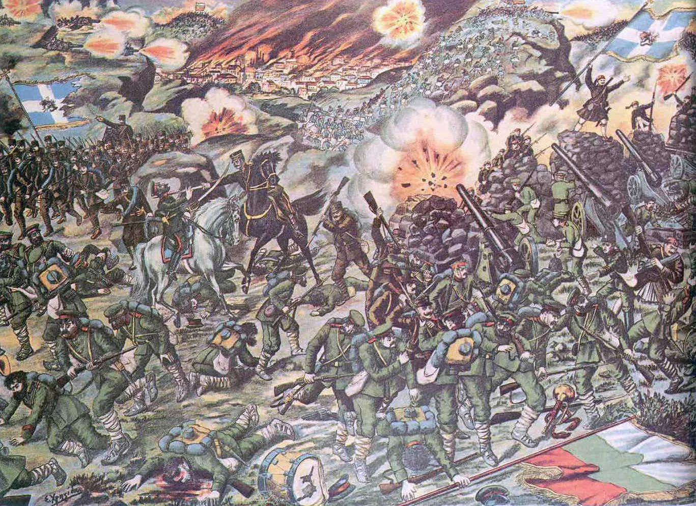 Battle of Kilkis (artist's conception)