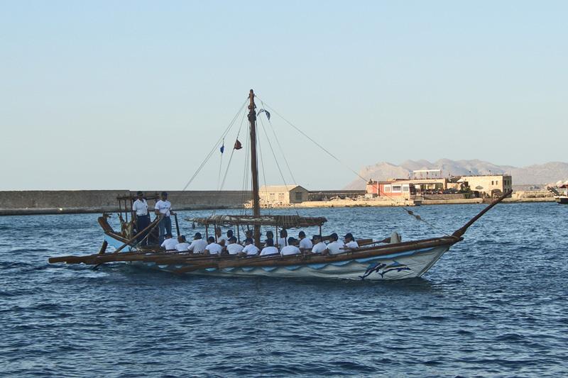 Minoa in the inner harbor, 2006