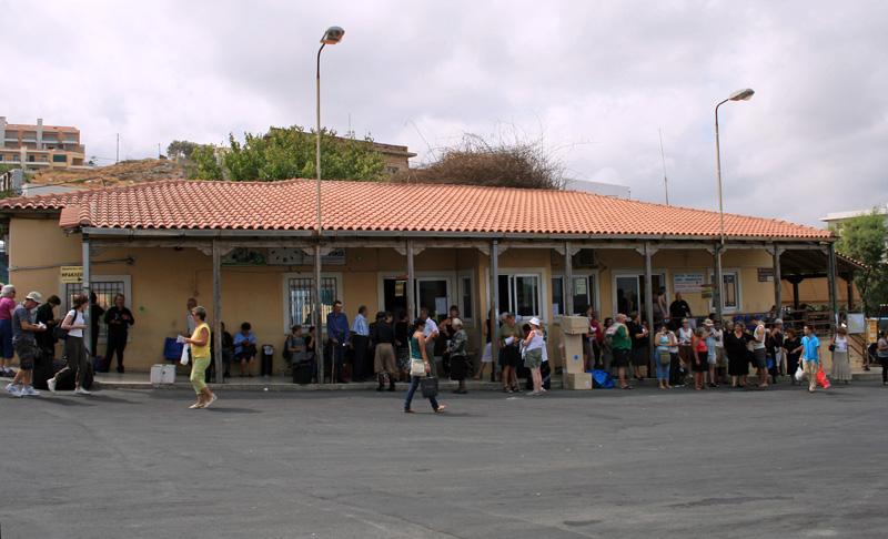 Rethymno bus terminal