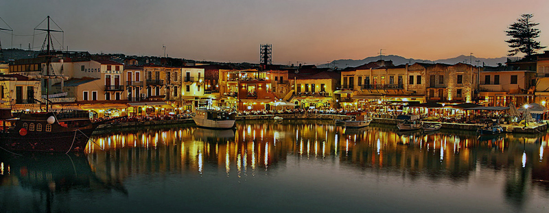 Old Venetian Harbor, Réthymno
