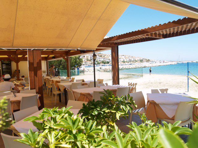 The Sitía Beach restaurant