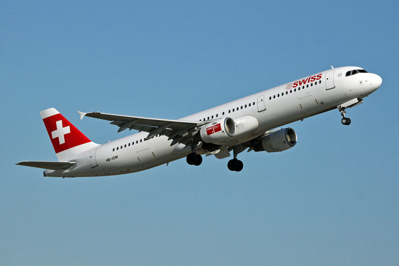 Swiss Airbus A-321