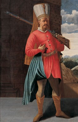 Janissary of the 16th or 17th century