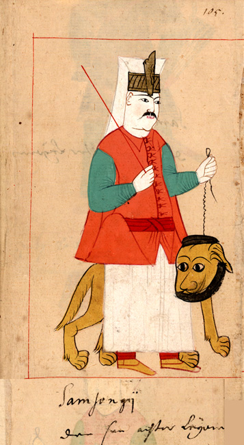 Regimental dog-keeper