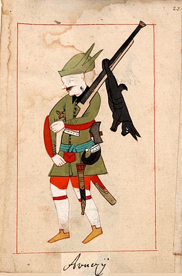 Janissary huntsman