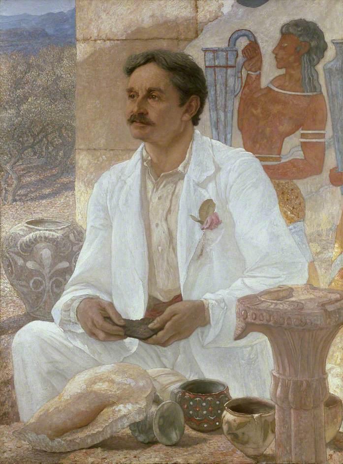 Arthur Evans at Knossós