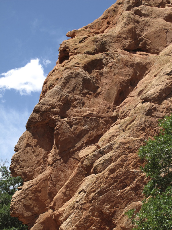 Sick of it all in the Garden of the Gods