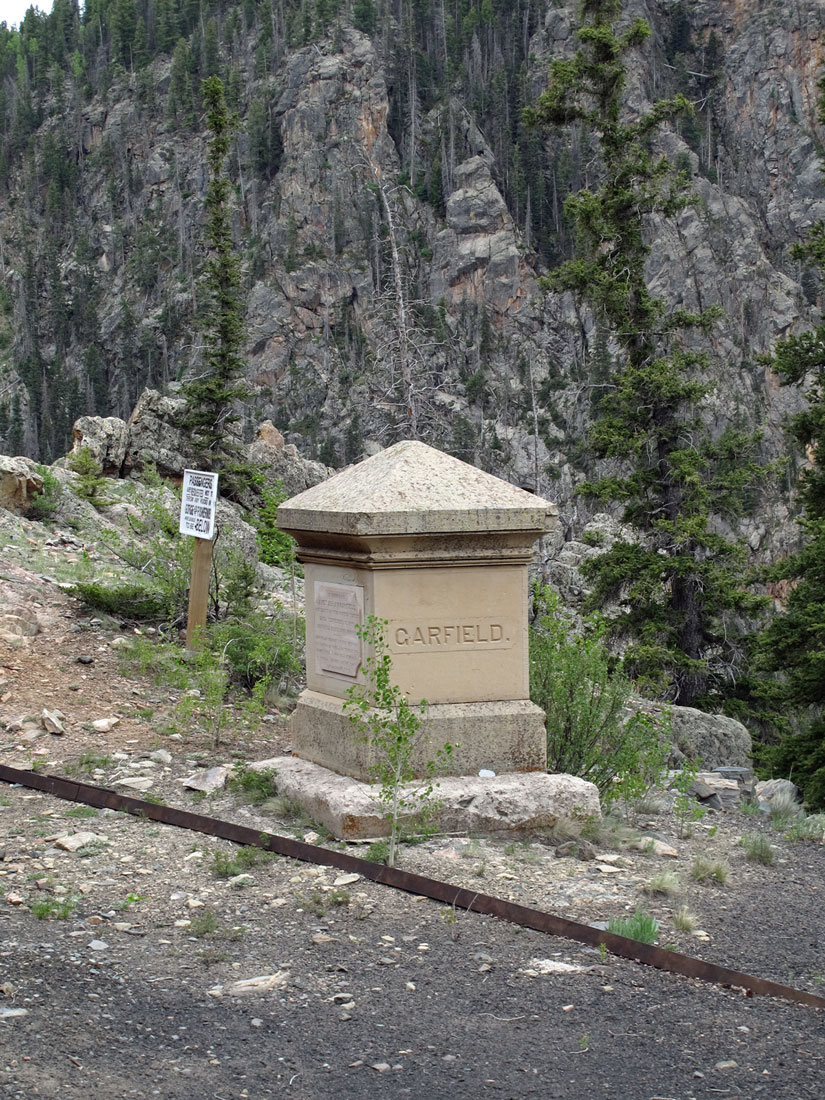 Memorial to President James Garfield